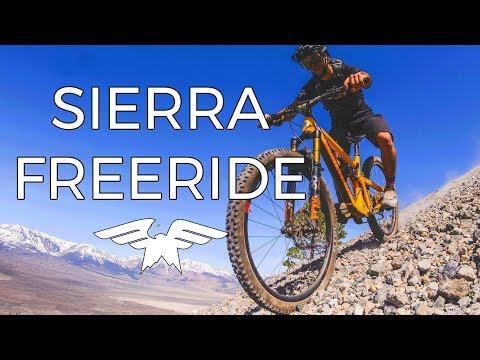 Eastern Sierra Freeride Mission - Mountain Biking Mono County, California