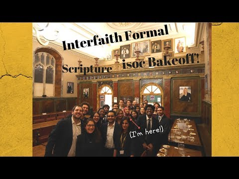 Interfaith Formal, ISOC Bakeoff and more!