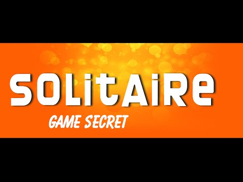 solitaire game secret