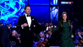 Дина Гарипова и Сергей Волчков