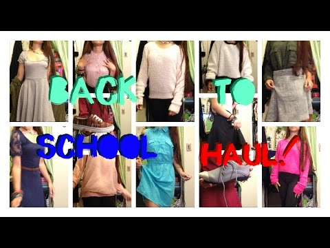 Back to School Try on Haul!