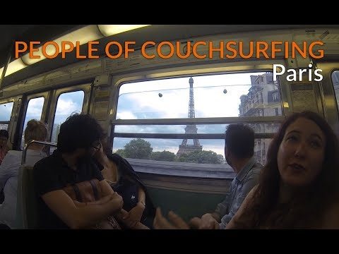 Couchsurfing in Paris | Kevin's Vlog Ep. 2