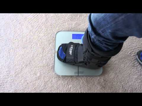 Broken Ankle—Transition to Partial Weight Bearing