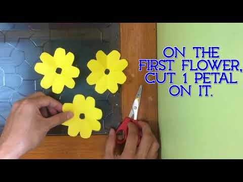 Simple Steps of Making a Paper Flower