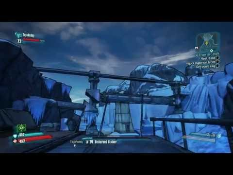 Borderlands 2 Offline LAN Co-Op Gameplay - A Train To Catch
