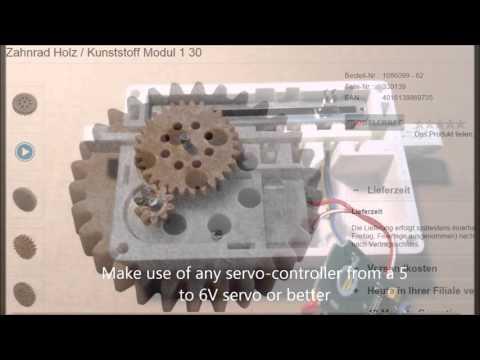 How to Make a Linear Servo DIY