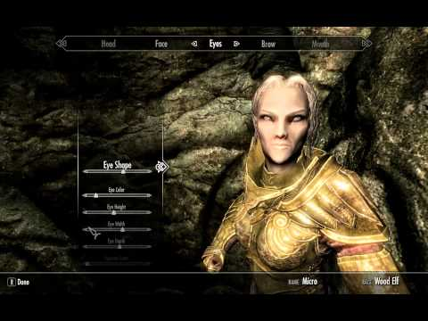 Skyrim How to reset Race,Gender,Face,etc. Pc