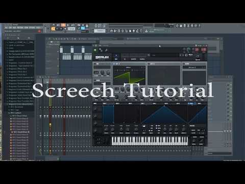 Hardstyle Screech Tutorial (Xfer Serum)