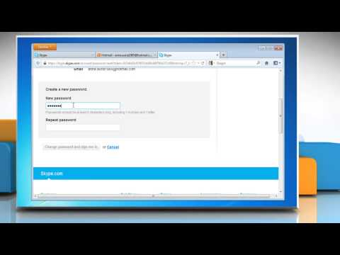 How to Reset Skype Password