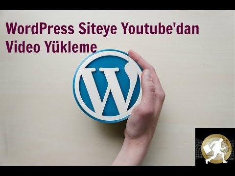 WordPress Video Ekleme / How can ı add video to wordpress