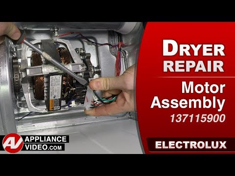 Electrolux Dryer - Motor assembly - Diagnostic & Repair