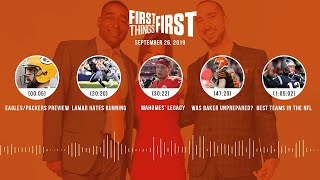 First Things First Audio Podcast (9.26.19)Cris Carter, Nick Wright, Jenna Wolfe | FIRST THINGS FIRST