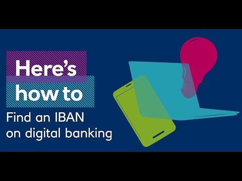 How to Find your IBAN
