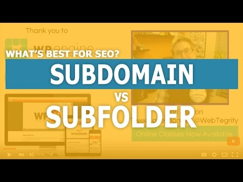 Subdomain vs Subfolder Which one is better for SEO?