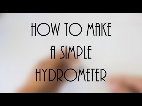 Simple Hydrometer