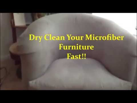 How to Dry Clean Microfiber Furniture DIY