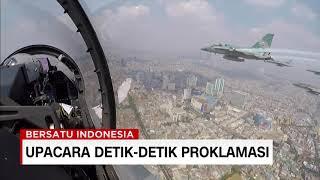 """Keren! Ini Dia Atraksi """"Flypast"""" TNI AU di HUT RI Ke-74"""