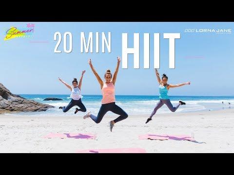 20 Min HIIT The Beach Workout | Summer Shape Up '17