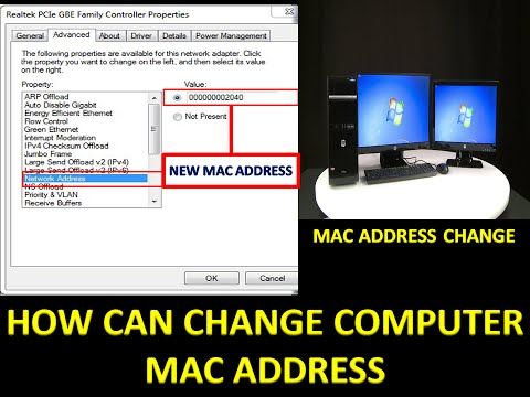 How to Change My Computer Mac Address on Windows 7/8/10 in Bangla video tutorial