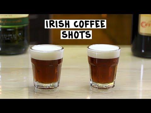 Irish Coffee Shots - Tipsy Bartender