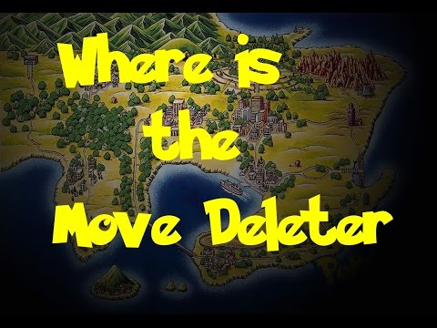 Where Is: The Move Deleter (Pokemon Fire Red/Leaf Green)