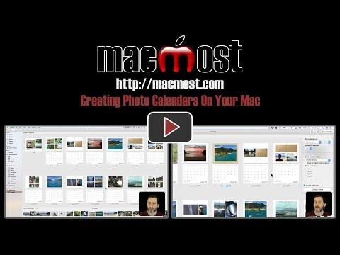 Creating Photo Calendars On Your Mac (#1542)