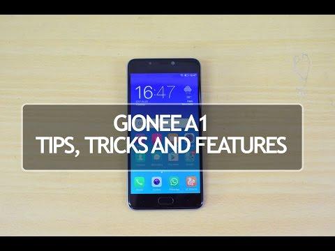 Gionee A1 (Amigo UI 4.0) Tips and Tricks