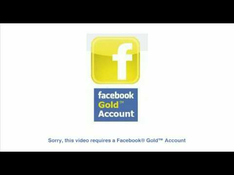 The Facebook ® Gold™ Account