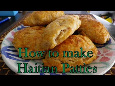 How to make Haitian Patties  part 1 (The crust)