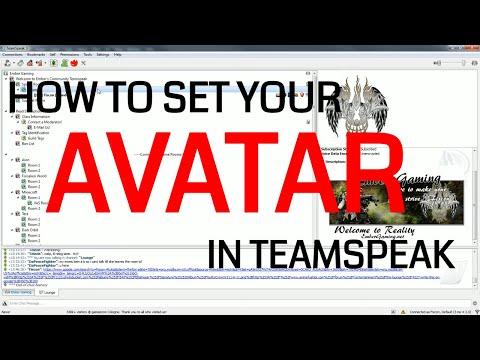 Set Your Avatar in Teamspeak 3