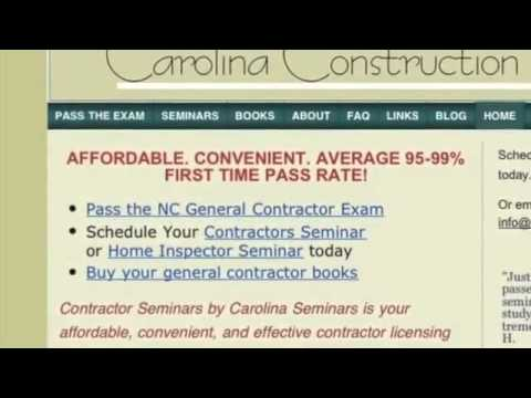 NC General Contractors License - How To Get Yours