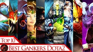 Top 10 gankers of patch 6.88 in dota 2