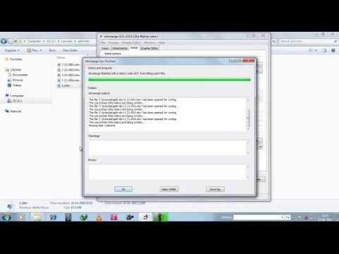 How to split .mkv video files using MKVToolnix GUI