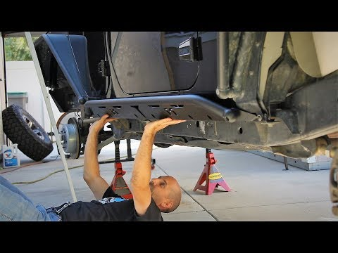 Jeep Wrangler MetalCloak Rocker Rail Install PLUS How to Make Your Chassis Look Amazing