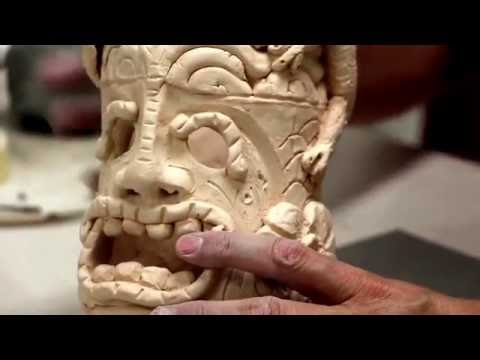 Tiki God out of Clay