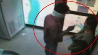 Chilling video of what Hyderabad call centre employee went through at ATM