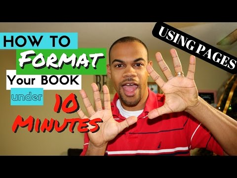 How to Format Your Ebook for Kindle Using Pages - Kindle Publishing