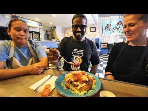 How to Eat the Indian Taco: Wilbur Sargunaraj at the Bannock House