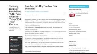 Standard Life Pension Funds Dog Or Star Performer