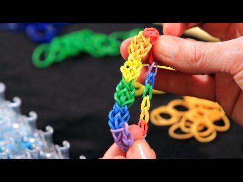 How to Make a Honeycomb Bracelet | Rainbow Loom