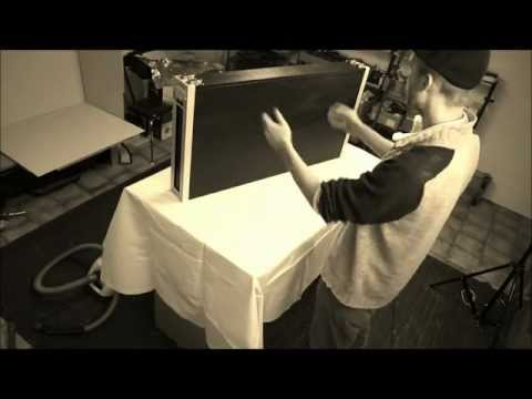 FOLDABLE GAMING TABLE FOR WARGAMES