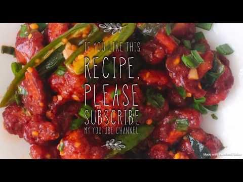 Gobi 65 | Cauliflower 65 recipe | Gobi Manchurian  recipe valsalaskitchen