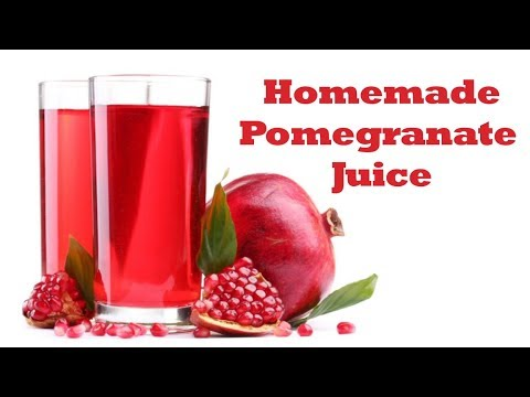How To Make Pomegranate Juice | Drinks Made Easy
