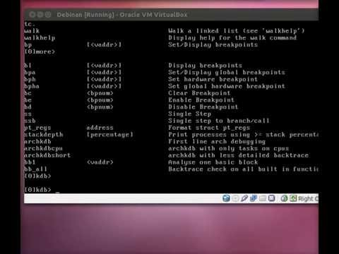 Debug Kernel 2.6.32 with KDB on Debian 6.0