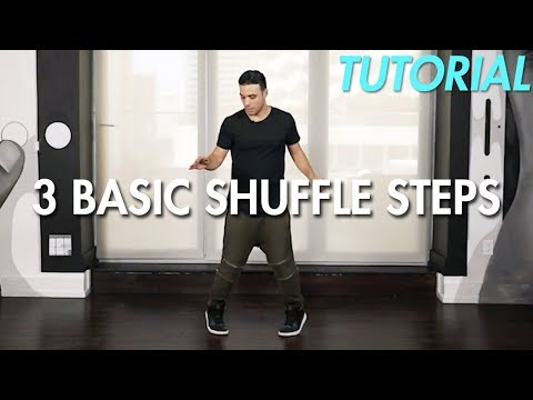 How to do 3 Basic Shuffle Steps (Hip Hop Dance Moves Tutorial) | Mihran Kirakosian