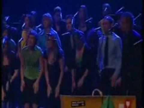 A Choir Making the Sounds of a Rain Storm