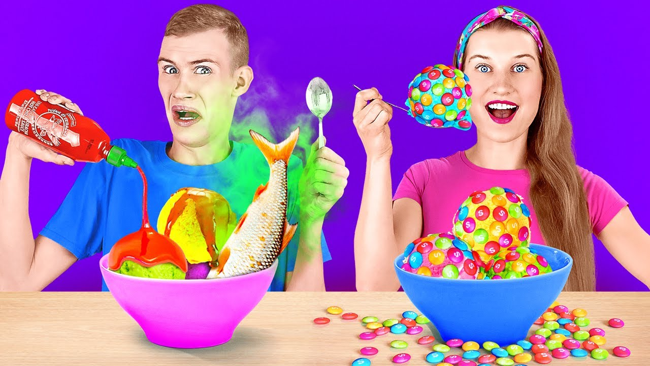 TRY NOT TO EAT WEIRD FOOD COMBINATIONS FOR 24 HOURS || Spin The Mystery Wheel By 123 GO! CHALLENGE
