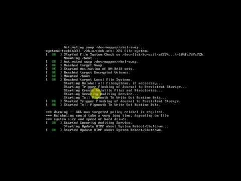 How to break the root password in Redhat linux