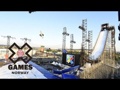 Takeru Otsuka wins Men's Snowboard Big Air gold   X Games Norway 2018