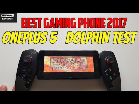 OnePlus 5 Medal of Honor: Rising Sun Gameplay Dolphin test/Gamecube games on Android 2017
